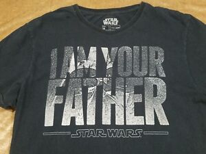 3f106f2e Star Wars - Darth Vader - Black T-Shirt - I Am Your Father - Mens ...