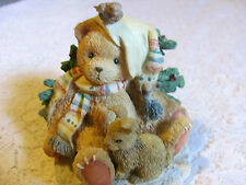 1992 Cherished Teddies Charlie Spirit of Friendship Warms the Heart #950742