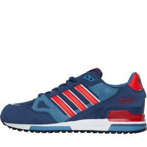 ADIDAS-Originals-ZX-750-Sneaker-Uomo-Blu-Scuro-Rosso-Bianco-UK