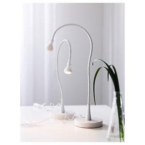 Ikea jansjo led tabledeskstudy lamp work light black or white ebay image is loading ikea jansjo led table desk study lamp work aloadofball Images