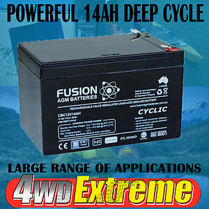 how to use deep cycle battery camping