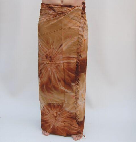 SA369P Premium Qualität Pareo Tuch Wickelrock Wandbehang Sari Sarongs Sarong