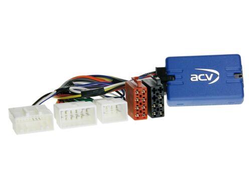 Toyota rav4 06-13 2-din radio del coche Kit de integracion adaptador de volante