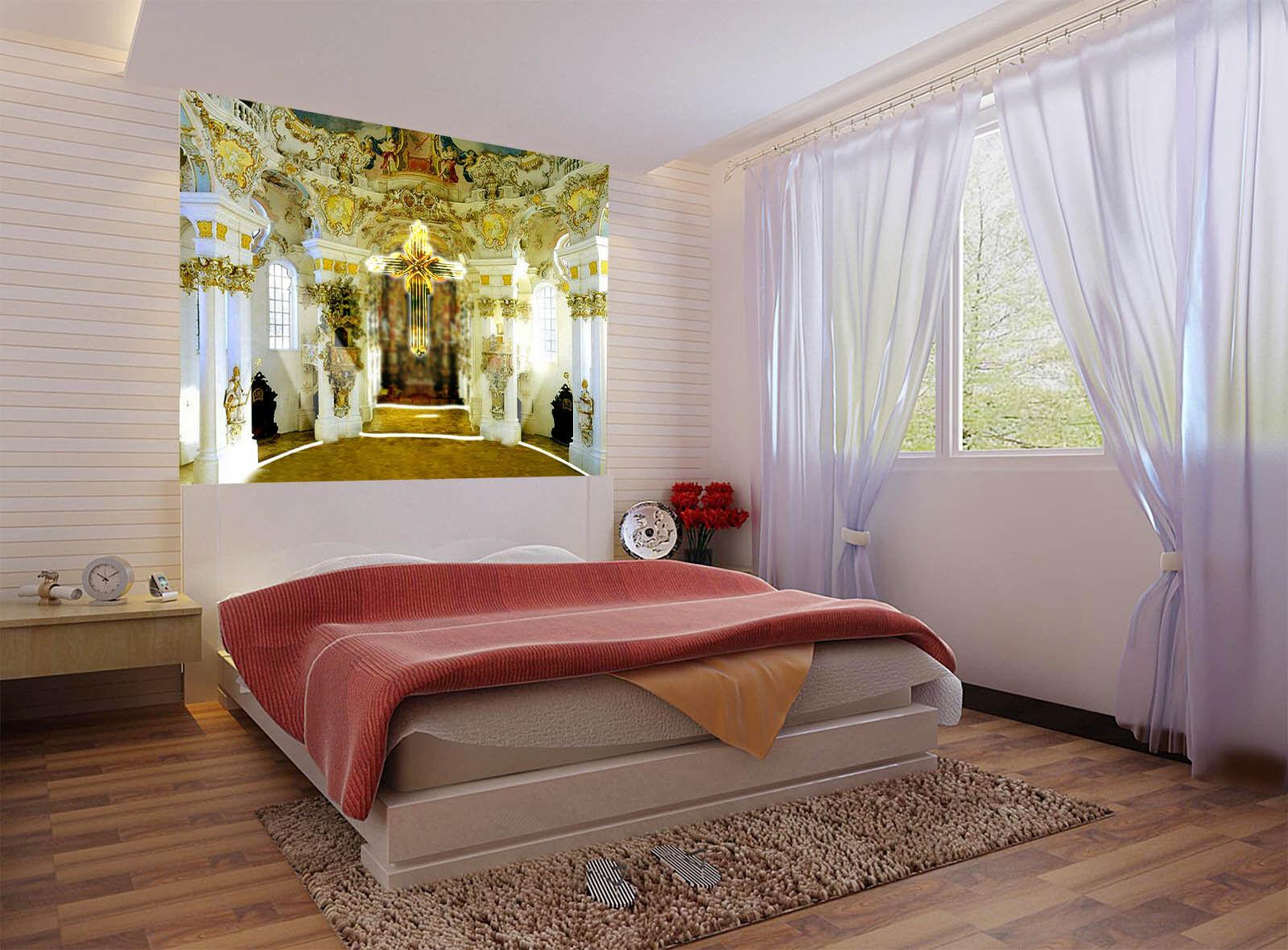 3D Mode Kirche 978 Tapete Wandgemälde Tapete Tapeten Bild Familie DE  Summer | Starker Wert  | Starker Wert  | Sehr gute Qualität