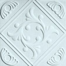Extruded styrofoam European Ceiling Tile 20x20 R-TWO White glue up