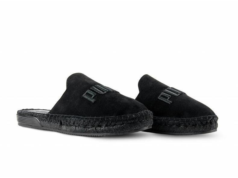 Puma zapatostring zapatostring zapatostring espandrille diapositiva   367685 01 Negro Mujer Talla 5 - 12  alta calidad y envío rápido