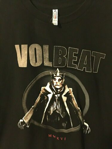 VOLBEAT 2XL Black Alstyle Heavy Metal Official Ban