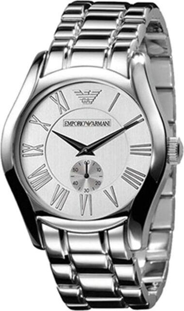 Emporio Armani Silver Quartz Analog Unisex Watch AR0648