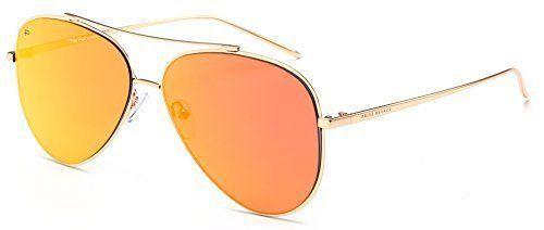 201ed0e0ba25 PRIVE REVAUX Handcrafted 'The Aphrodite' Aviator Unisex Sunglasses Designer  NEW