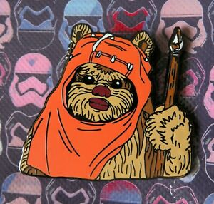 Schlupf-Der-Ewok-Return-Of-The-Jedi-Original-Trilogy-Harte-Emaille-Fantasy-Pin
