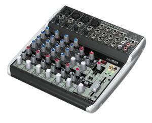 Behringer-Q1202USB-Live-Studio-Audio-Interface-Mixer-Demo-Unit-NEW-FREE-2DAY