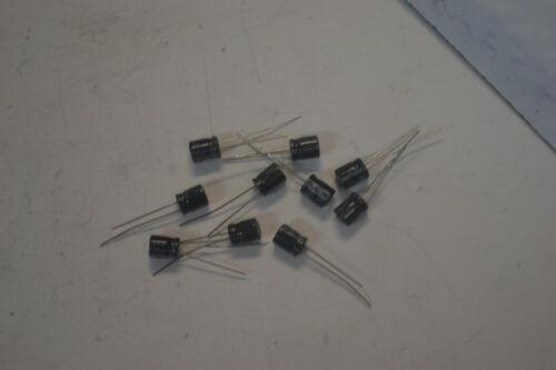 100uf 25v Capacitors Lot of 10