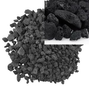 American-Fire-Glass-Medium-Sized-Black-Lava-Rock-Porous-All-Natural-1-2-Inch