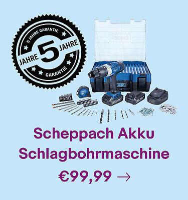 Scheppach Akku Schlagbohrmaschine