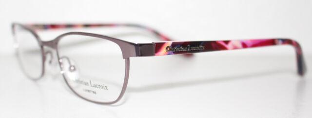 288c6390ee68 CHRISTIAN LACROIX CL3030 251 PURPLE Cats Eye Optical Eyeglass Frame For  Women