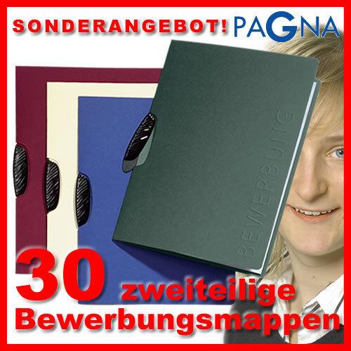 ANGEBOT  30 SWING PRÄGUNG Bewerbungsmappen von PAGNA - Mappen für Bewerbung   Modern Und Elegant    Sale    Passend In Der Farbe