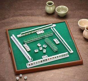 Details About Travel Board Game Mini Chinese Mahjong Set