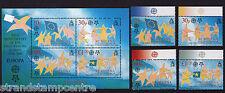 St Helena - 1st Europa Stamps - U/M - SG 979-985 + MS983