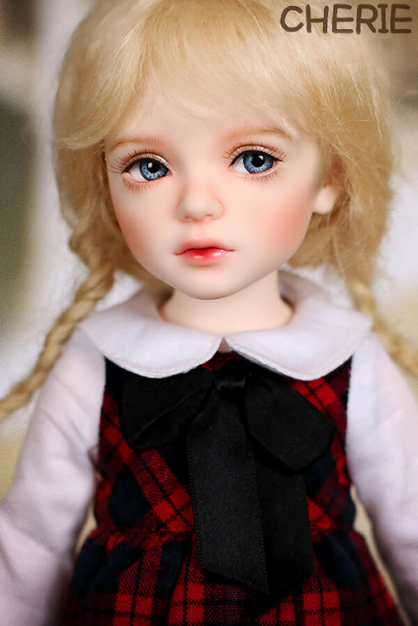 1 6 BJD Doll ip bid Cherie Girl -frei Face Make UP+frei Eyes