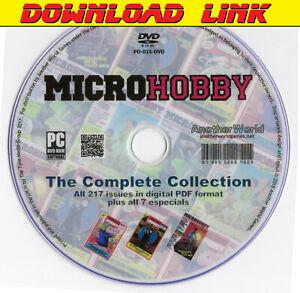 MICRO HOBBY Spanish Magazine Collection DOWNLOAD+Bonus (Sam Coupe/Spectrum Games