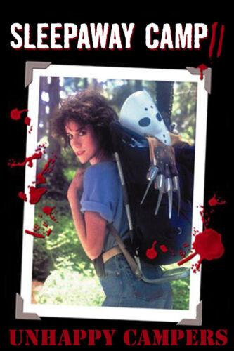 SLEEPAWAY CAMP 2 Movie POSTER Horror Zombies