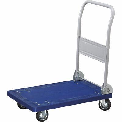 FERVI carrello con piattaforma in pvc e mancio pieghevole in metallo C150