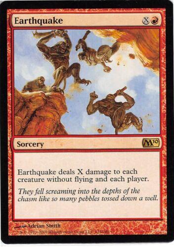 Earthquake *Rare* Magic MtG x1 M10 SP