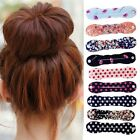 Fashion Magic Sponge Hair Twist Styling Clip Stick Bun Maker Braid Tool