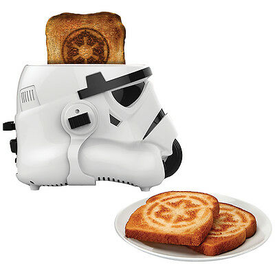 NEW Star Wars Stormtrooper Toaster Galactic Kitchen Electrics Appliance