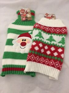 image is loading pet central dog christmas winter pocket jackets sweaters - Christmas Jackets
