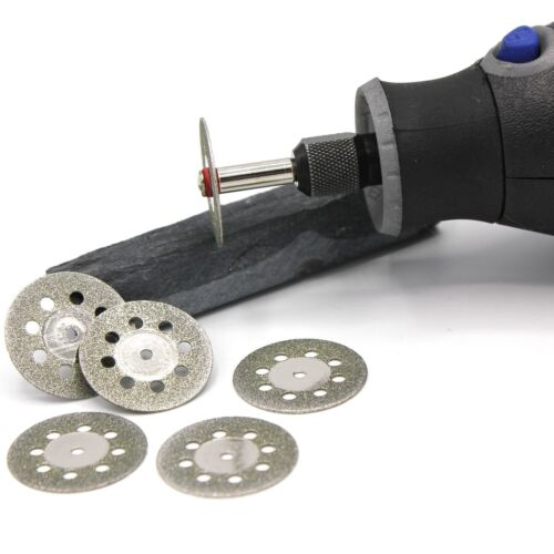 6x Mini Diamant Trennscheiben 22mm Schleifer Schleifgerät Schleifmaschine D28