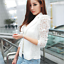 Women-Autumn-Lace-Slim-Casual-OL-Blazer-Suit-Duster-Jacket-Coat-Outwear-Cardigan thumbnail 9