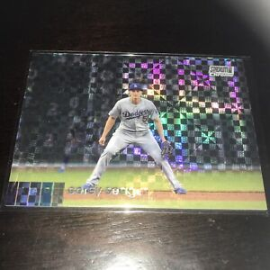 Topps Stadium Club Chrome Xfractor Corey Seager Base Dodger WS MVP 2020