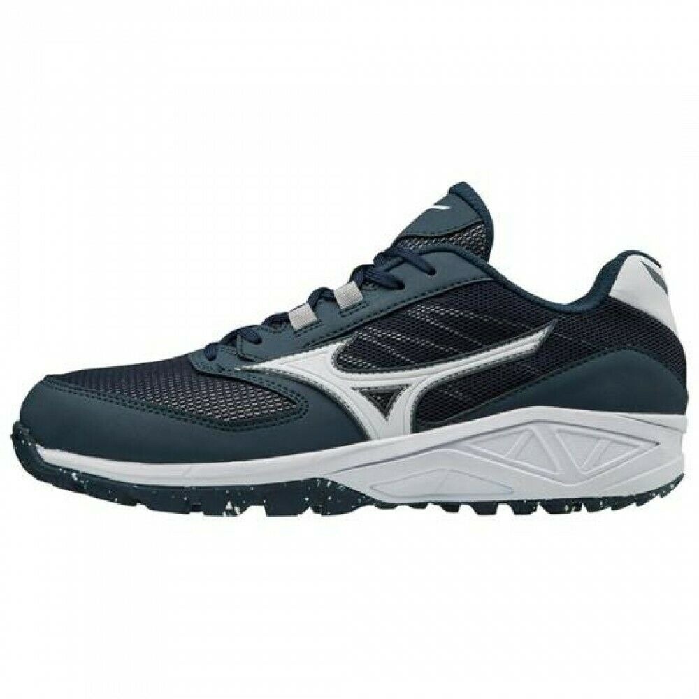 Mizuno baseball spike schuhe MIZUNO DOMINANT AS 11GT1851 Navy × Weiß