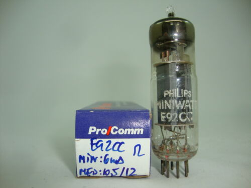 MIXED BRAND TUBE RCB37. PINCHED WAIST NOS TUBE E92CC  TUBE