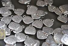 17 Colgantes pequeños Zamak, abalorios,bisuteria, pendant, pendentif, anhänger