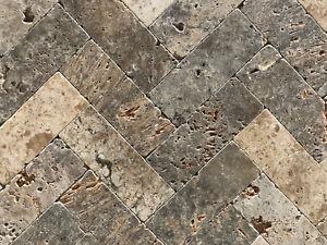 Piastrelle in pietra travertino per pavimenti rivestimenti interni