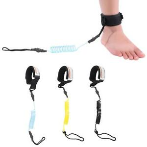 Surfboard Leash Stand Up Paddle Board Coiled Wrist String Surfing Leg Foot Rope