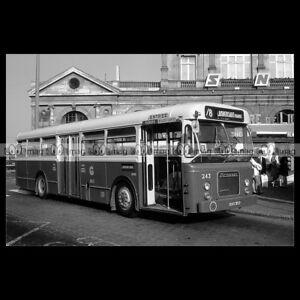 #pha.020322 Photo BROSSEL A92 DAR-L JONCKHEERE 1962-1967 LILLE bus Car Auto EE4PPIa2-08023657-159511417