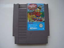 The Simpsons Bart Vs The Space Mutants sur Nintendo NES !!!