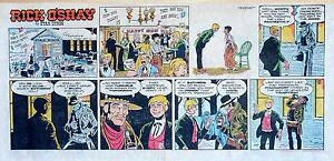 Rick-O-039-Shay-by-Stan-Lynde-full-color-Sunday-comic-page-December-31-1972