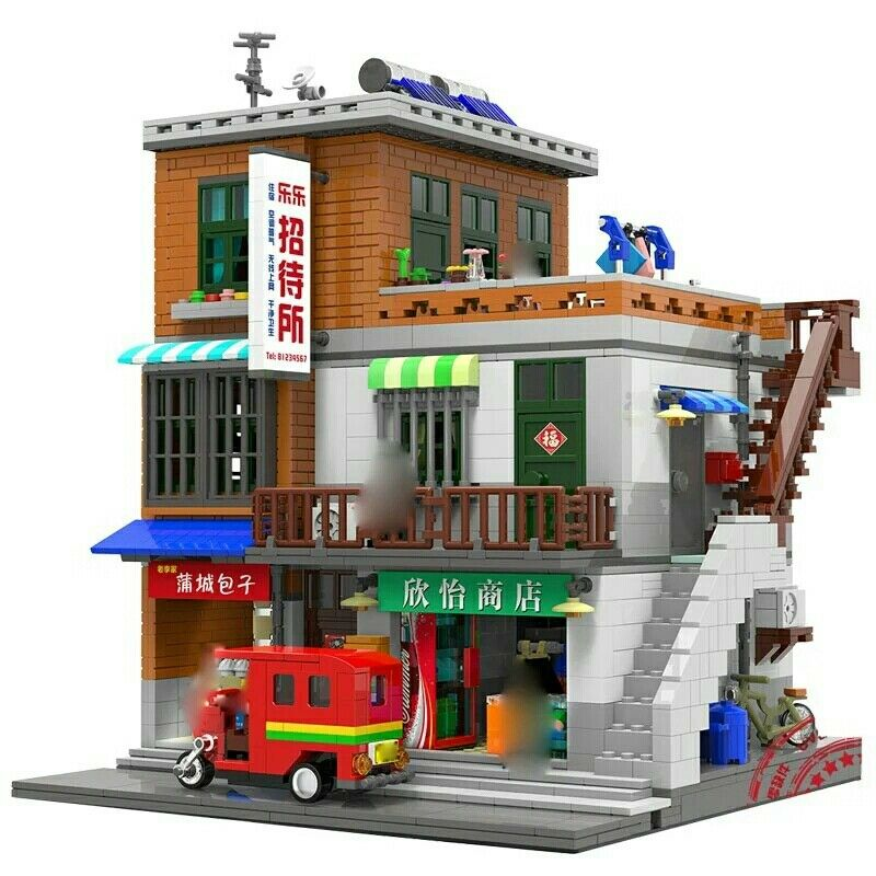 Village Store 2706 piece model