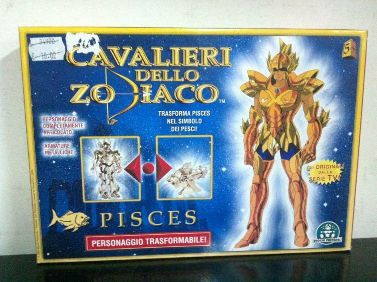 Cavalieri Dello Zodiaco gold PESCI MIB, 2000