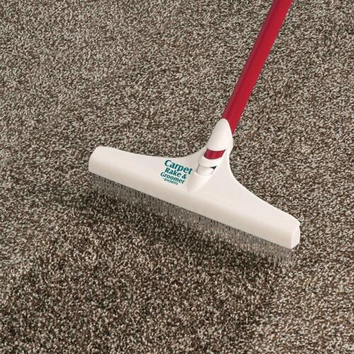 Roberts 70-127-3 Carpet Rake /& Groomer Rug 51 In Cleaning Home Pet Hair New