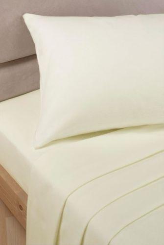 LUXE 100/% Coton Égyptien Plat Simple Double King Super King percale draps!