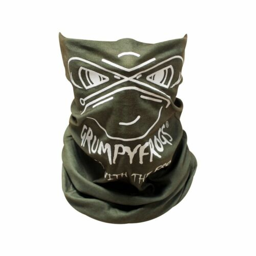 GRUMPYFROGS Face Mask Neck Gaiter Balaclava Phibskin. Washable.