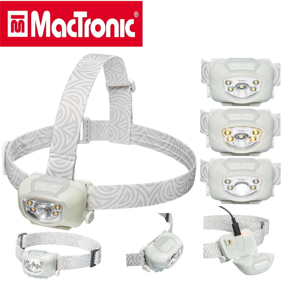 Mactronic Stirnlampe Nippo 1.9 LED Campinglampe Leuchte Kopflampe AHL0013