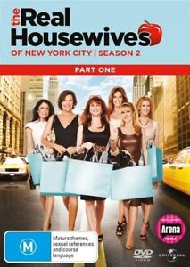 THE-REAL-HOUSEWIVES-OF-NEW-YORK-CITY-Season-2-Part-1-2-DISC-DVD-SET-New