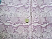 Stretch Fabric - Pink, Rose & White Camouflage - 1 3/4 Yd