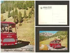 Cartolina FIAT SAD – La strada delle Dolomiti